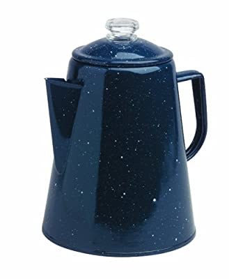 Granite Ware 1.7 Imp.Quart Coffee Percolator, Blue by Granite Ware