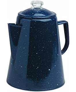 Granite Ware Coffee Percolator, 2 Quart, Blue