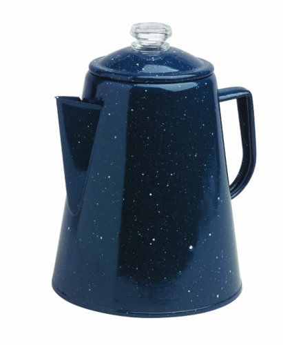 Granite Ware Coffee Percolator, 2 Quart, Blue 0224-4