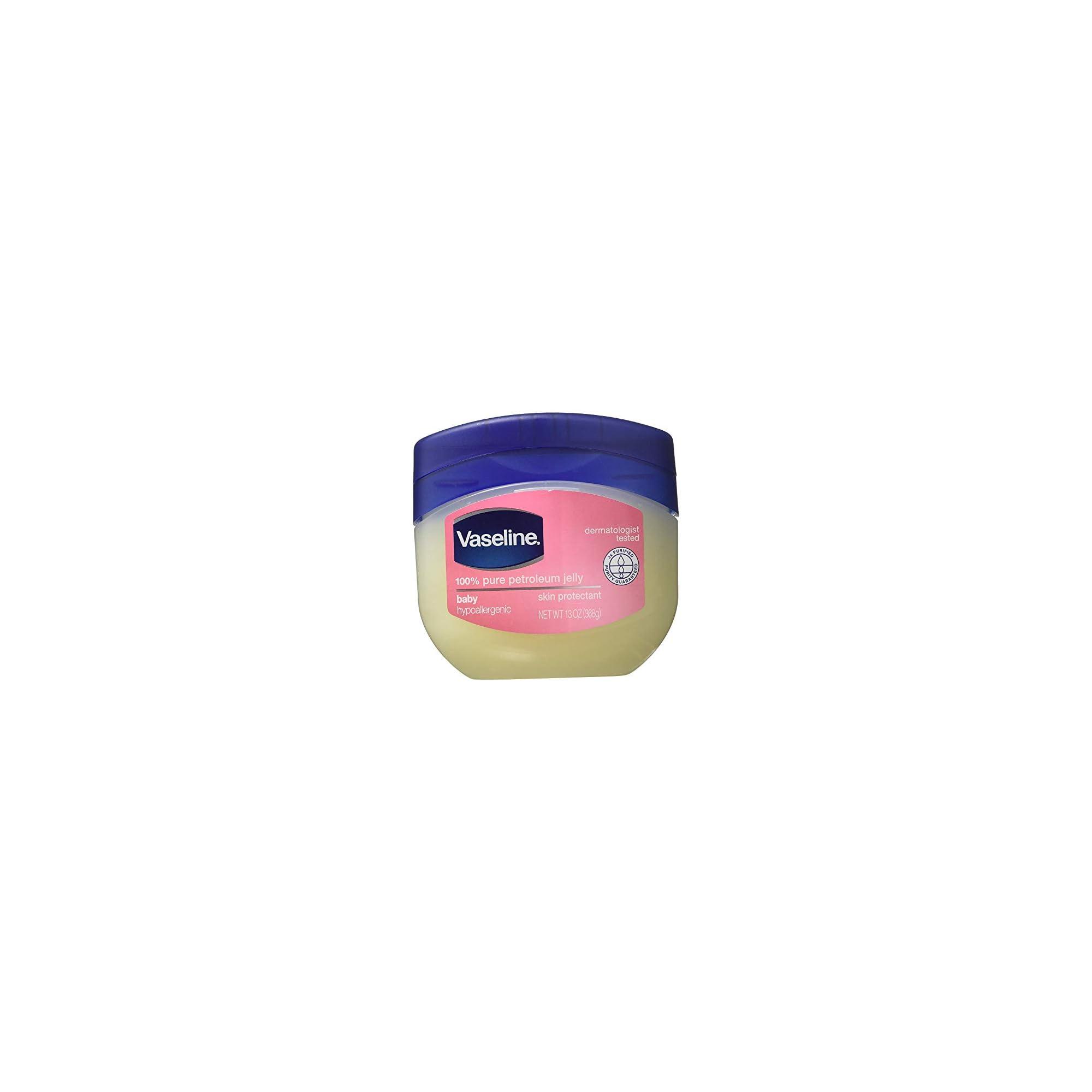 Vaseline Baby Nursery Petroleum Jelly 100% Pure, 13 Oz (Pack of 2)