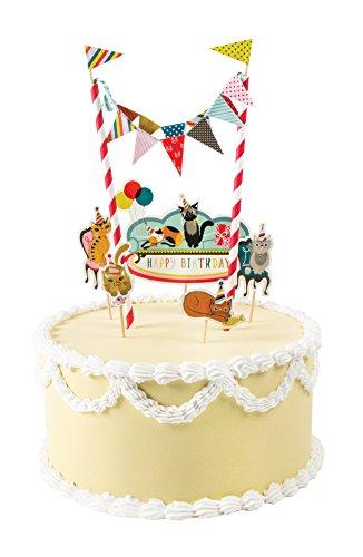 Party Partners Super Cute Kittens Mini Cake Decorating Kit, Multicolor ()