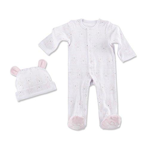 Baby Aspen Beary Sleepy Baby Pajama Gift Set, Pink