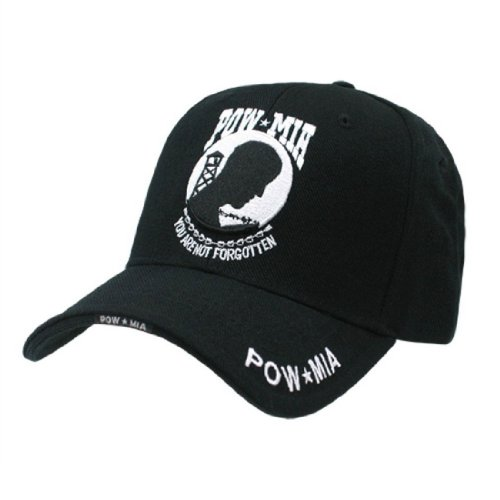(Rapid Dom Military Embroidered Baseball Caps RD POW MIA)
