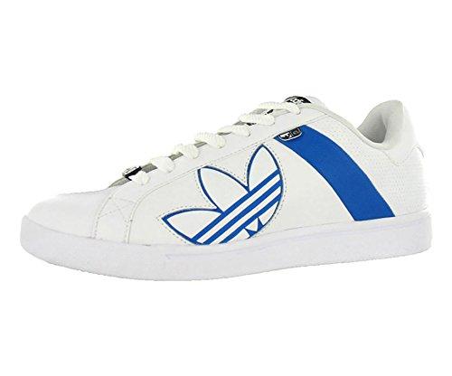 adidas Bankment Evolution Men's Skateboarding Shoes Size US 12, Regular Width, Color Blue/White