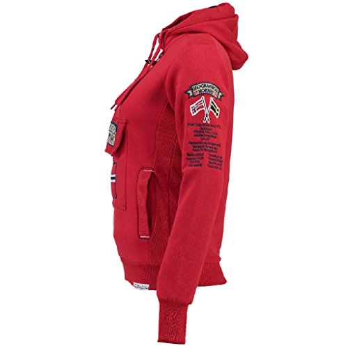 Geographical Norway - Sweat Femme Geographical Norway Gymclass Rouge