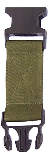 Black Pistol Belt Extenders - Military Outdoor Clothing 1029-BLK Never Issued US GI Black Buckle Pistol Belt Extenders