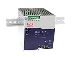 [PowerNex] Mean Well TDR-960-24 24V 40A 960W Three Phase Industrial DIN RAIL with PFC Power Supply Function