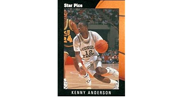 Amazon.com  Kenny Anderson Basketball Card (Georgia Tech) 1991 Star Pics  Rookie  5  Sports Collectibles c936496ff