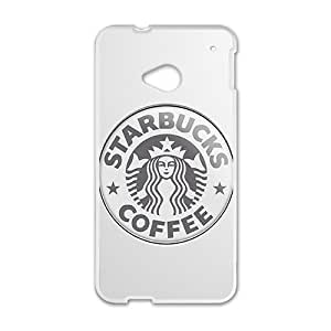 Personal Customization Starbucks design fashion cell phone case for HTC One M7