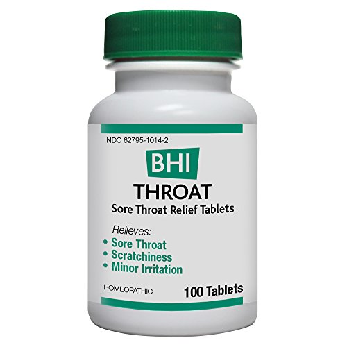 (BHI Throat Sore Throat Relief Tablets, 100)