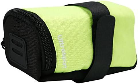 Ultrasport Alforja para bicicleta, 0,5 l de capacidad, p. ej. para transportar herramientas o la cartera, compatible con todas las bicicletas habituales, Amarillo: Amazon.es: Deportes y aire libre