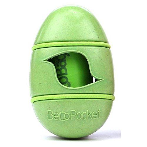 Beco Pocket Eco Friendly Dog Poop Bag Holder (One Size) (Green) ()