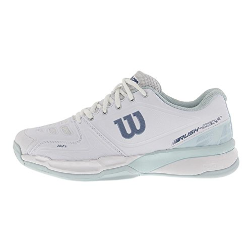 Wilson Women`s Rush Comp Tennis Shoes White and Blue Glow-(WRS323720-S18) White/Blue Glow/Provincial Blue cheap sale tumblr great deals cheap online clearance geniue stockist TAfSk