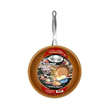 "Gotham Steel 9951 9.5"" Non-stick Titanium Frying Pan by Daniel Green, Brown"