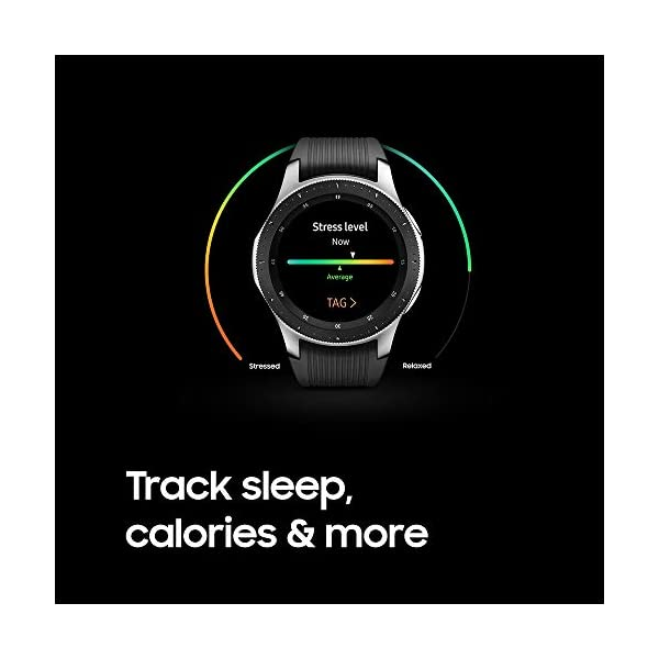 Samsung Galaxy Watch (46mm) Silver (Bluetooth), SM-R800NZSAXAR – US Version with Warranty 19