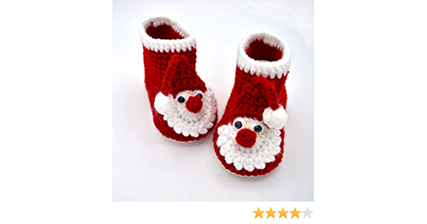 Shell Stitch Boots Crib Shoes for Girls Crochet Baby Booties Gray Crochet Baby Boots with Green Ribbon Baby Shower Boots