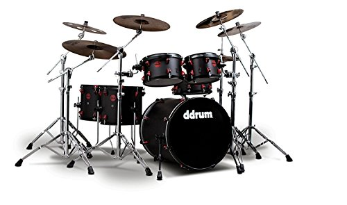 ddrum HYBRID6BLKRED Electronic Drum Set Natural (Professional Drum Set)