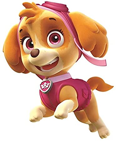 5 Inch Skye Paw Patrol Pup Wall Decal Sticker Pups Puppy Puppies Dog Dogs Removable Peel