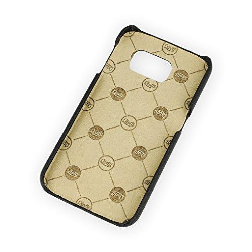 QIOTTI QX-C-0130-03-SGS6 Snapcase Q.Snap Balance Premium Echtleder für Samsung Galaxy S6 schwarz