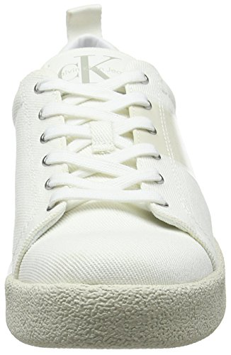 Twill Ginnastica Uomo Basse Scarpe Ofw da 000 Klein Bianco Calvin Gerardo qEwY0X