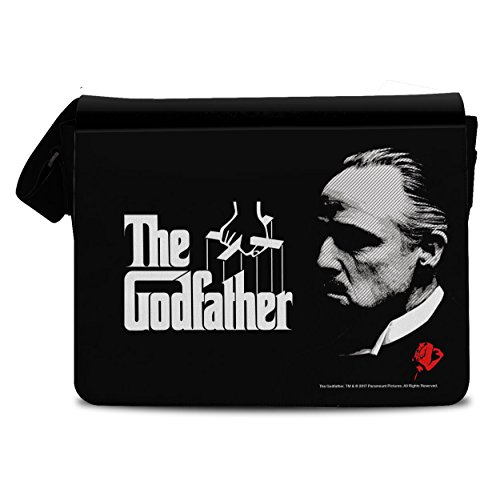 Licenza Ufficiale The Godfather - Don Corleone Borsa Messaggero, Borsa Tracolla