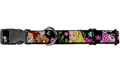 Buckle-Down Martingale Dog Collar - Alice's Encounters in Wonderland - 1.5