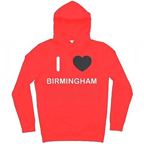 I Love Birmingham - Extra Large Red - 2000 Fashion Birmingham