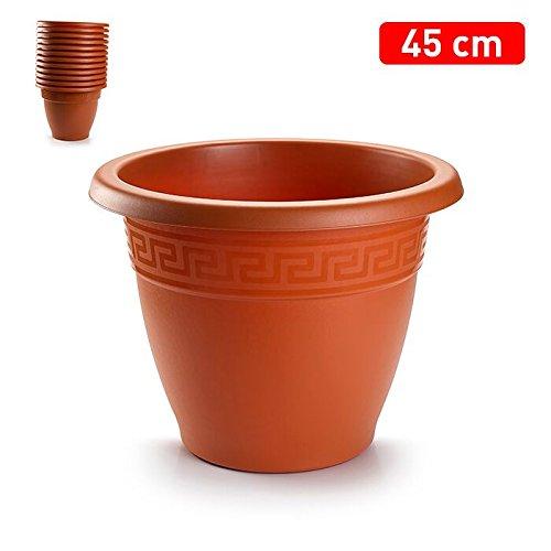 faunagarden 3 maceteros de Plastico DE 45 centimetros