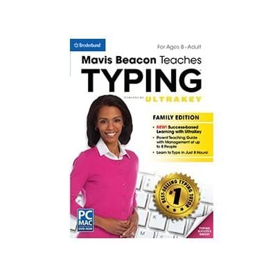 Mavis Beacon Teaches Typing - Family Edition: Computers & Accessories