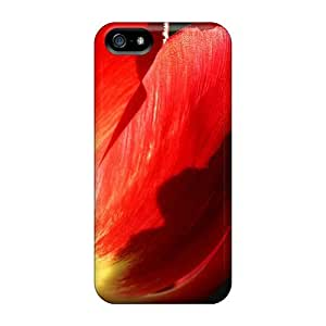 DaMMeke PVAbJrh8015WYhwx Case For Iphone 5/5s With Nice Tulip Flowers 20 Appearance