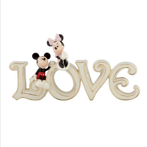 (Lenox Mickey and Minnie True Love Figurine)