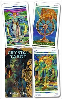 Raven Blackwood Imports Fortune Telling Tarot Cards Crystal Deck Stained Glass Art Nouveau Style Brilliant - Card Glass Stained