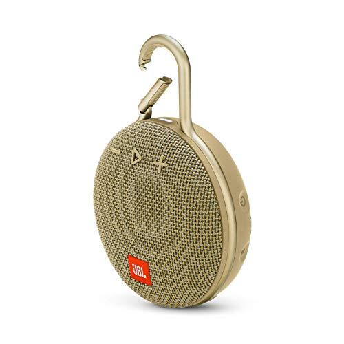 JBL Clip 3 Portable Waterproof Wireless Bluetooth Speaker - Sand