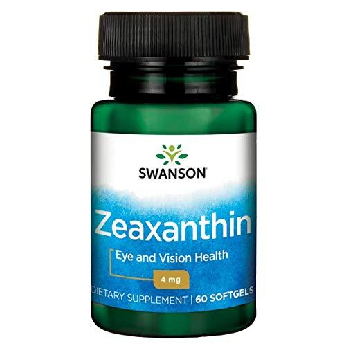 Swanson Zeaxanthin 4 Milligrams 60 Sgels