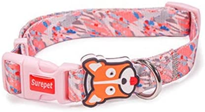 ACHONGW Collares para Perros Diseñador de Moda Imprimir Arnés de ...