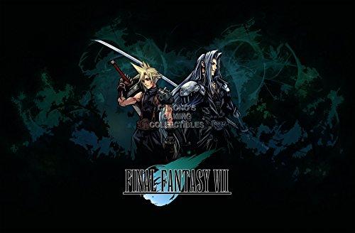 CGC Huge Poster - Final Fantasy VII Cloud Sephiroth PS1 PS2 PS3 PS4 PSP Vita - EXT407 (24