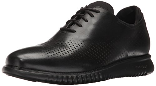 Cole Haan Men's 2.0 Zerogrand Laser Wing Oxford, Leather/Black, 10 Medium US