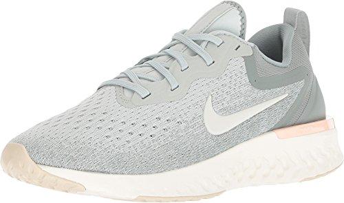 (Nike Women's Odyssey React Light Silver/Sail Mica Green Running Shoe 9 Women US )
