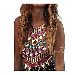 Rhinestone Body Chains Fashion Charm Harness