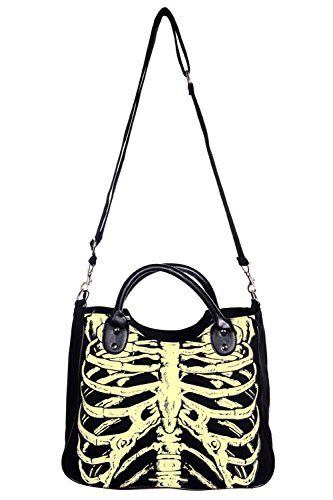 dark uV the axe lumière sac Banned in skeleton glow nzwZq8nxAT