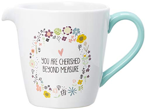 Pavilion Gift Company 54220 Measuring Cup, White