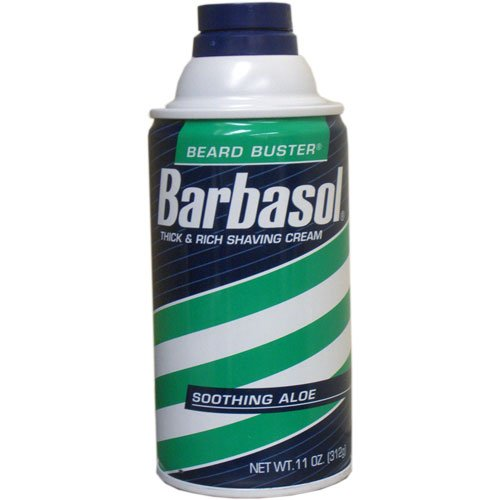 Barbasol Soothing Aloe Thick & Rich Shaving Cream 11 oz
