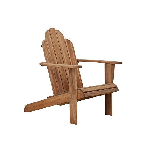 Linon Home Decor Teak Wood Stock Chair by Linon Home Dcor