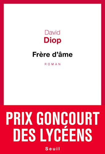 """""""Frère d'âme (Cadre rouge) (French Edition)"""" av David Diop"""