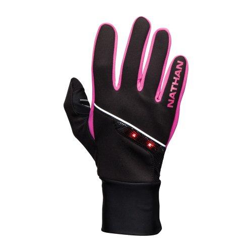 Nathan Thermal (Nathan SpeedShift Glove, Medium, Black/Fluoro Fuchsia)