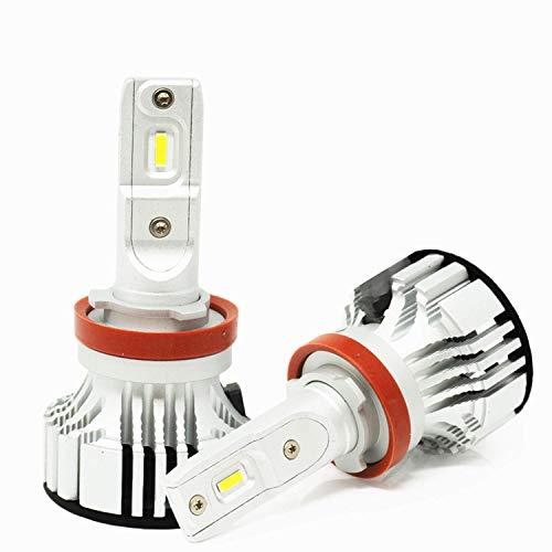 Image of Alla Lighting Adjustable H8 H9 H11 LED Bulb D-CR 9000 Lumens