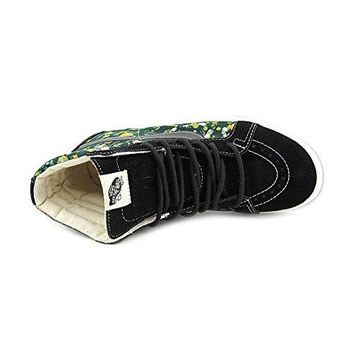 Vans Mens Sk8-hi Riedizione (della) Batik / Scarpe Da Skateboard Nere Us 9.5