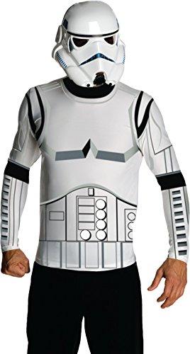 Star Wars Adult Stormtrooper Costume Kit, White, X-Large ()