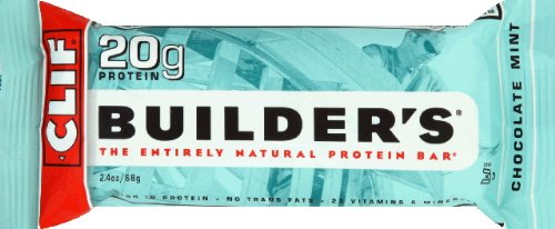 Clif Bar Bulider's Bar Chocolate Mint 2.4 OZ (Pack of (Clif Builders Bar Chocolate)
