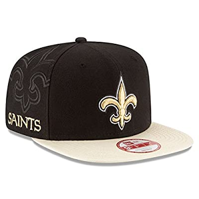 New Orleans Saints 2016 NFL Sideline Snapback 9Fifty New Era Hat
